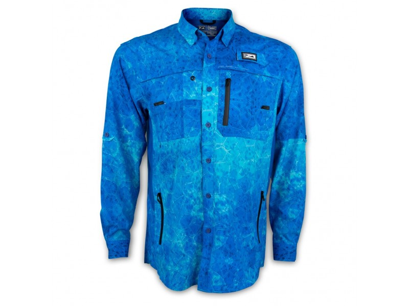 Chemise Pelagic Eclipse Pro 2.0 Long Sleeve Fishing Guide Shirt