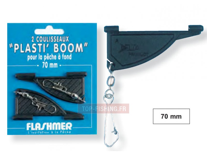 Coulisseaux Plasti'boom Flashmer - 70 mm