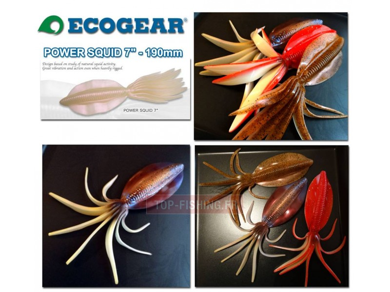 Ecogear Power Squid 190mm