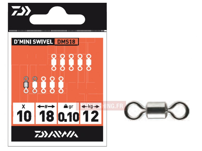 Emerillons Daiwa Mini Swivel