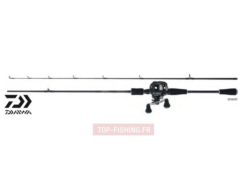 Ensemble Lancer Casting Canne & Moulinet Daiwa Set Cast 07