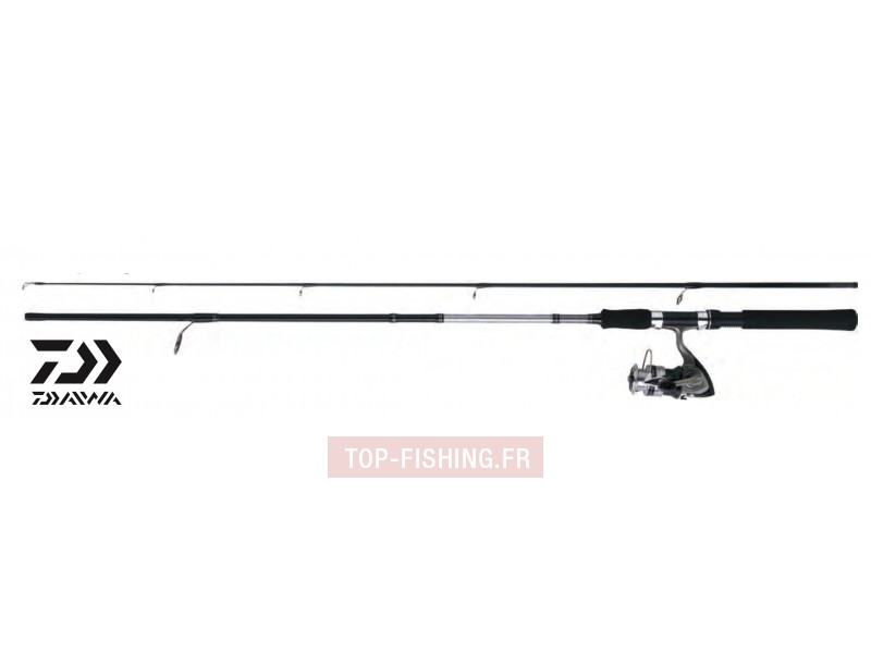 Ensemble Lancer Spinning Canne & Moulinet Daiwa Set Lancer 01/02/03