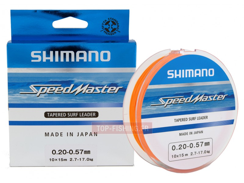Fil Nylon Shimano Speedmaster Tapered Surf Leader