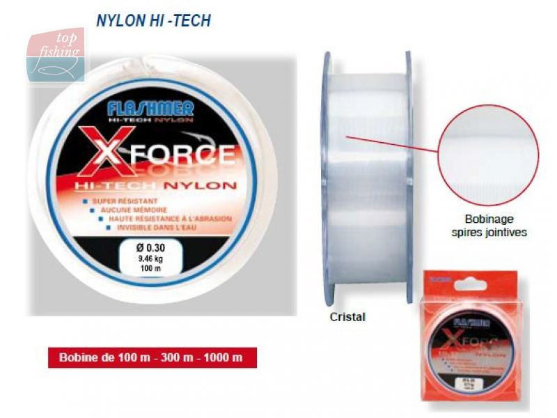 Monofil Flashmer X-FORCE 300m