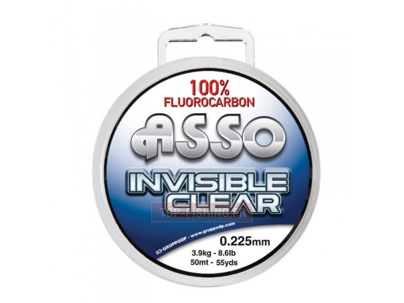 Fluorocarbone Asso Invisible Clear - 100 m