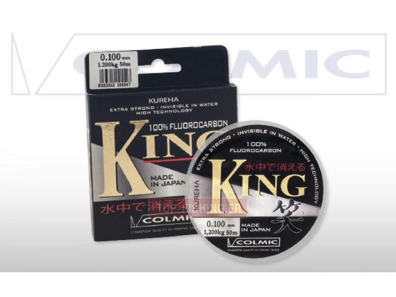 Fluorocarbone Colmic King - 50 m