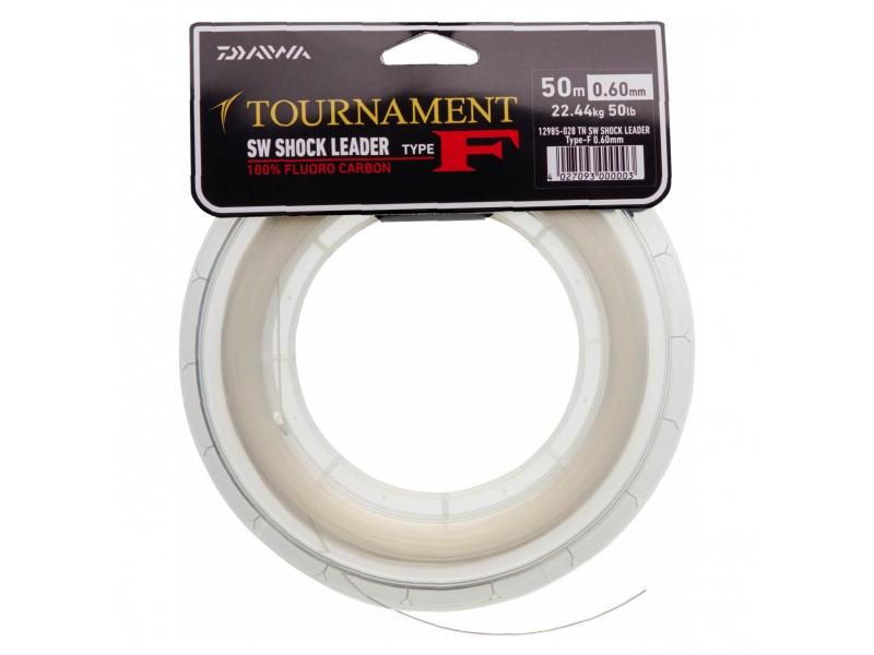 Fluorocarbone Daiwa Tournament SW Shock Leader 50m