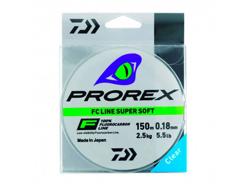 Fluorocarbone Prorex Line SuperSoft 150m