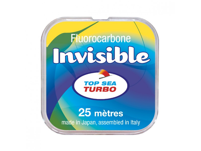 Fluorocarbone Top Sea Turbo Invisible