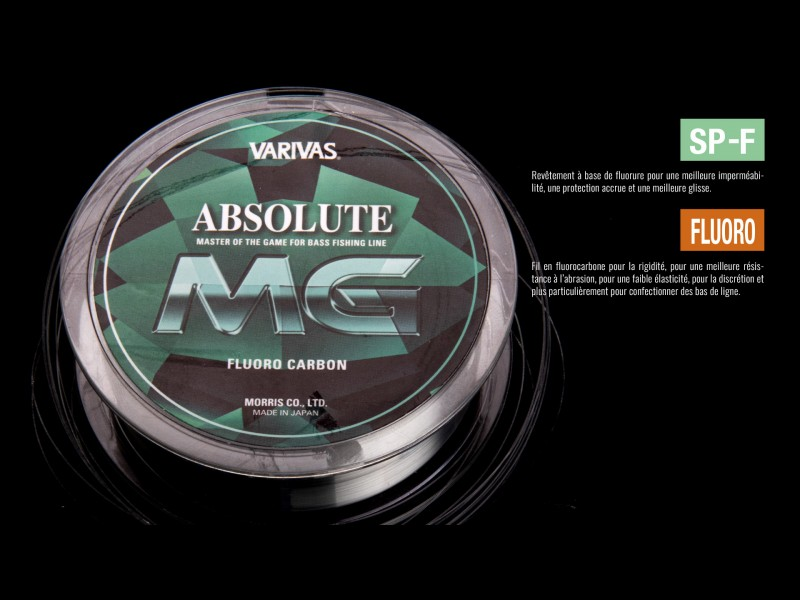 Fluorocarbone Varivas Absolute MG 100mm