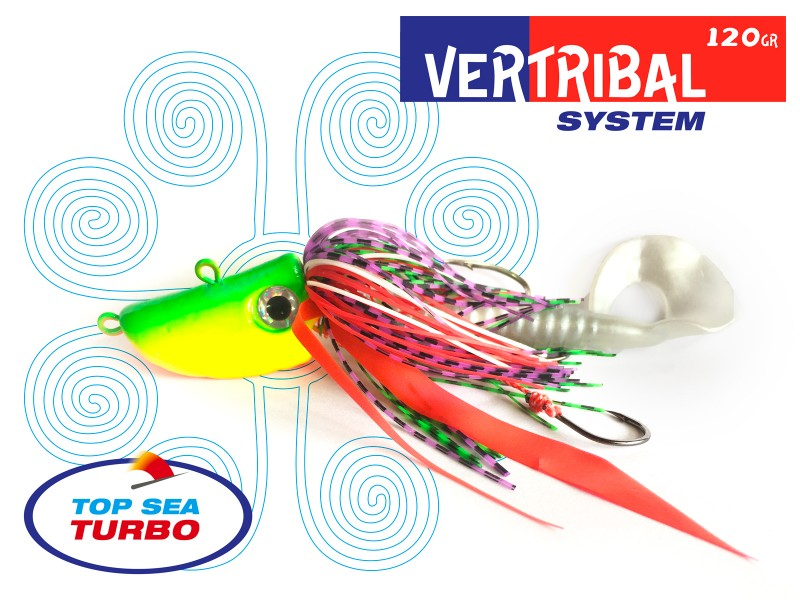 Leurre Top Sea Turbo Vertribal System