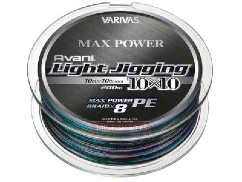 varivas avani light jigging