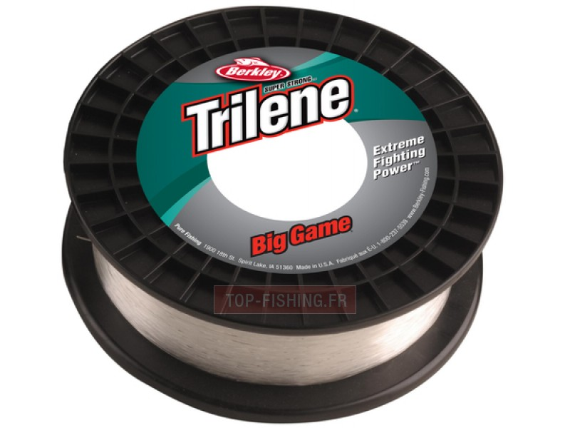 Nylon Berkley Trilene Big Game Econo Spool - Transparent