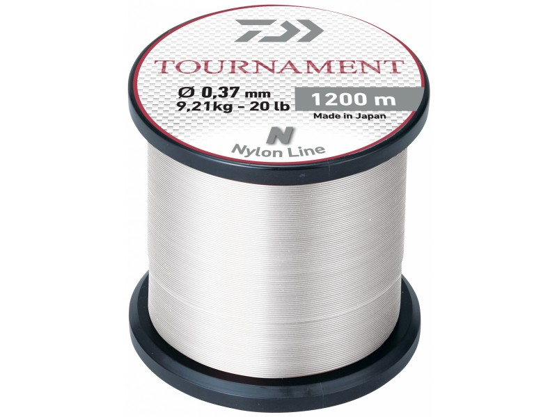 Nylon Daiwa Tournament 1200m blanc
