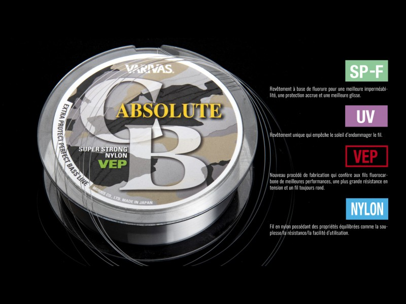 Nylon Varivas Absolute CB 100m