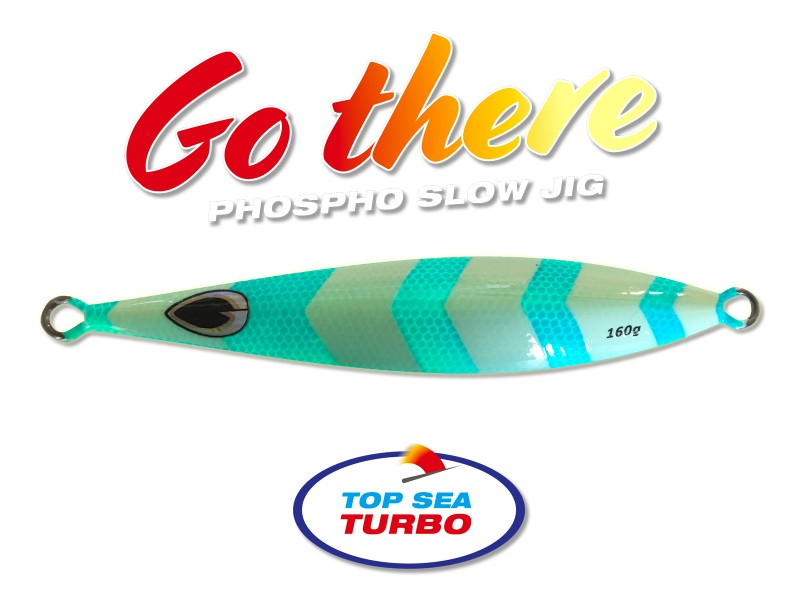 Slow Jig Top Sea Turbo Go There 160gr