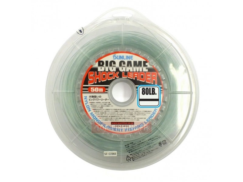 Sunline Big Game Shock Leader 50m
