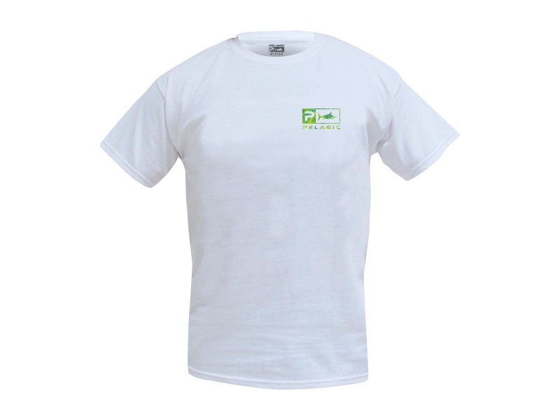 T-Shirt Pelagic Deluxe Dorado Green Basic