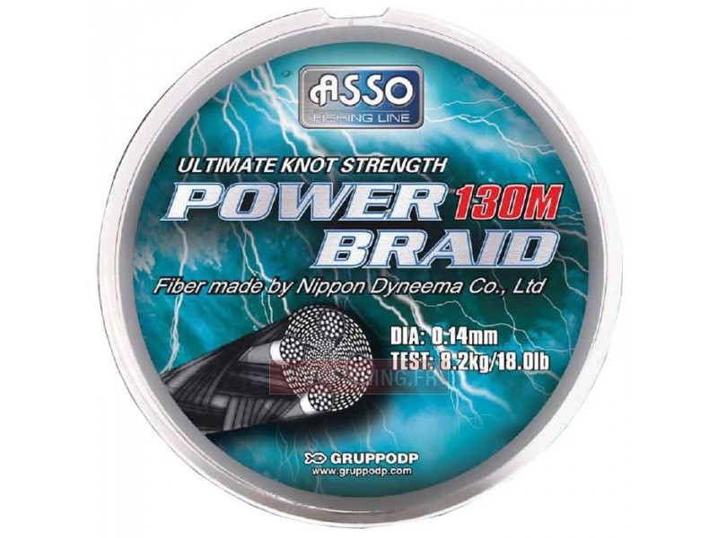 Tresse ASSO Power Braid - 130 m