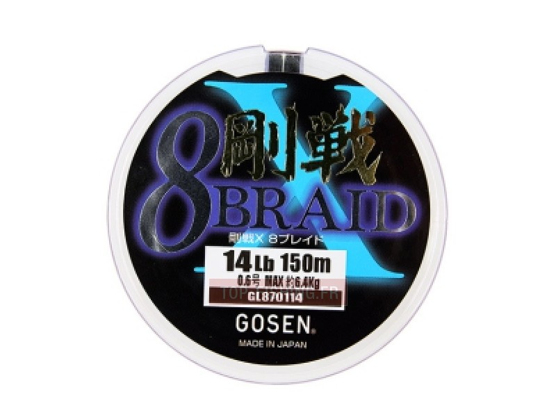 Tresse Gosen X8 Braid - 150 m
