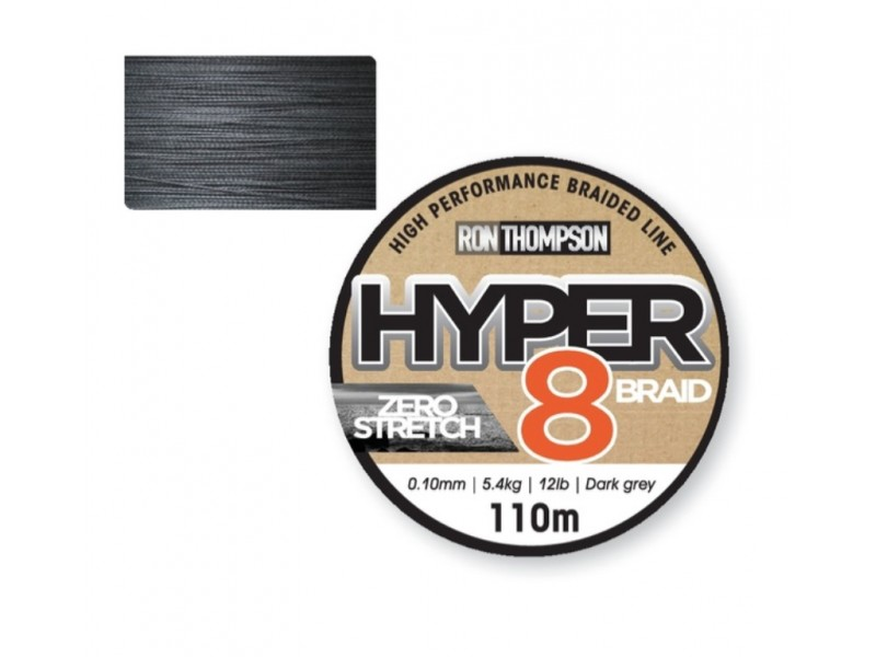Tresse Ron Thompson Hyper 8-braid 110m