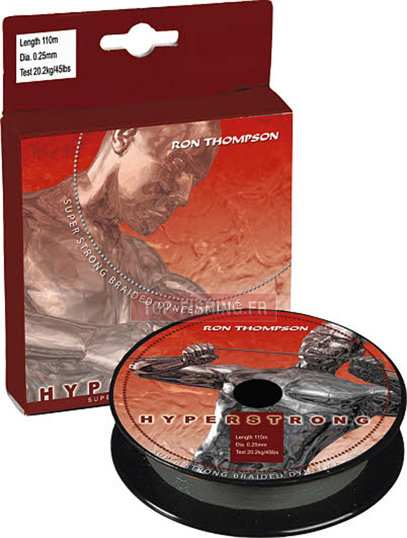 Tresse Ron Thompson Hyperstrong Braid - 110 m