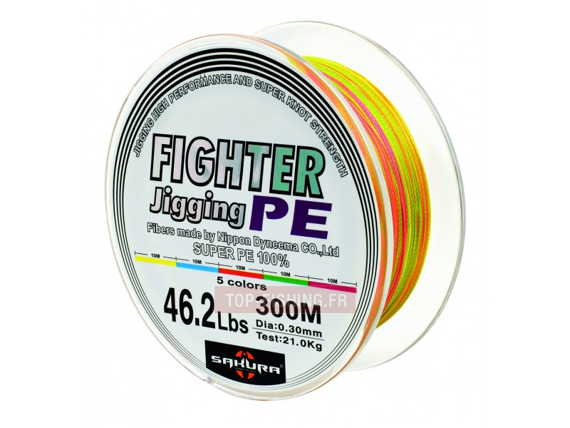 Tresse Sakura Fighter Jigging PE - 300 m