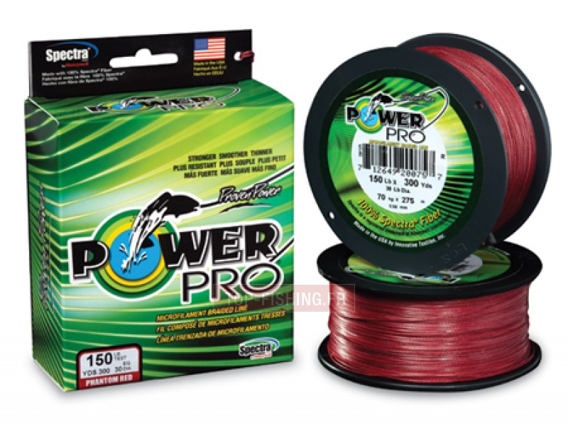 Tresse Power Pro Super Lines Rouge 275m
