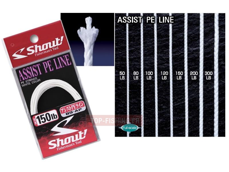 Tresse Shout Assist PE Line