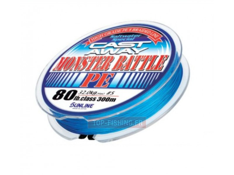 Tresse Sunline Monster Battle PE 300m 8 brins