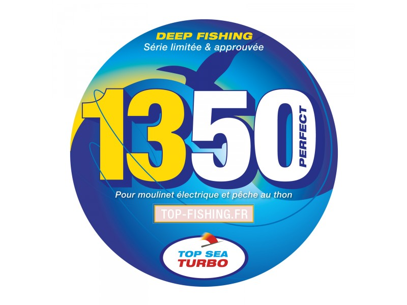 Vue 5) Tresse Top Sea Turbo 1350 Perfect