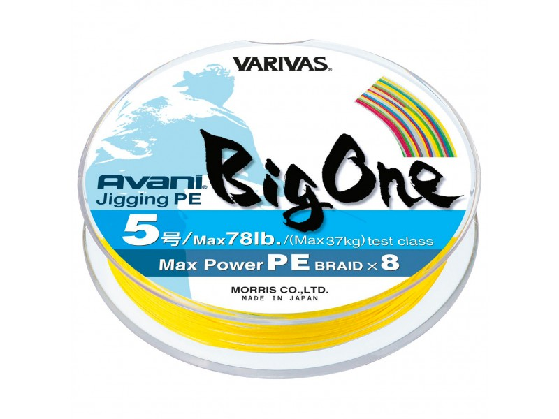 Tresse Varivas Avani Big One Jigging 600m