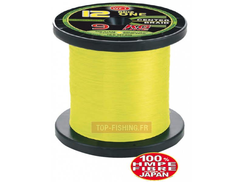Tresse WFT KG 12+1 Center Braid - Jaune