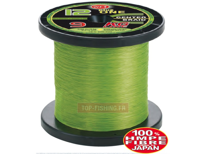 Tresse WFT KG 12+1 Center Braid - Verte