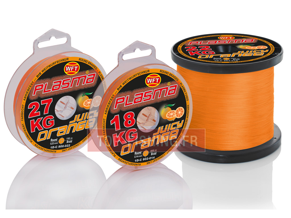 Tresse WFT Plasma Juicy Orange - 150 m