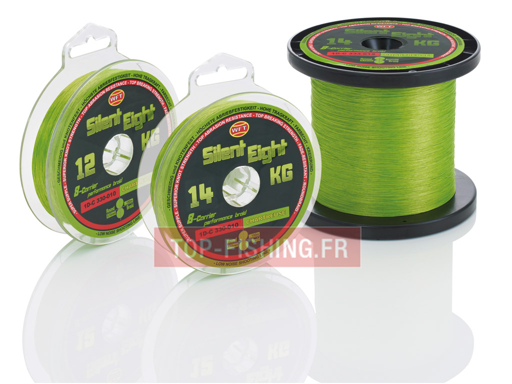 Tresse WFT NEW Silent 8KG Chartreuse