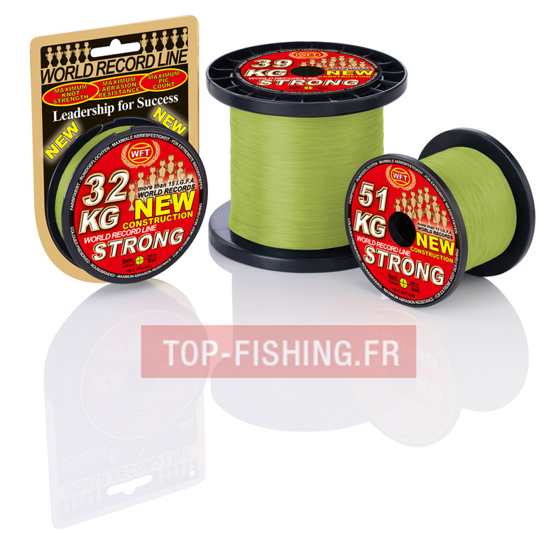 Tresse WFT KG Strong Chartreuse 300m