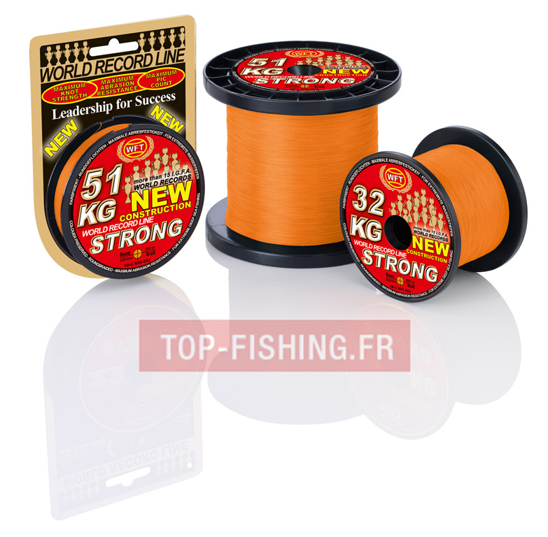 Tresse WFT KG Strong Orange 300m