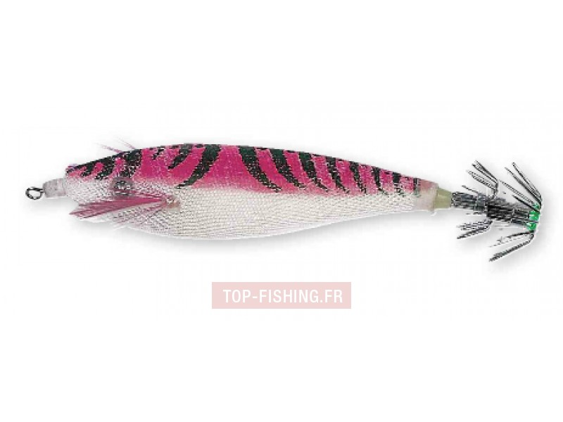 Vue 5) Turlutte Sea Squid Pitbull TCR 9cm