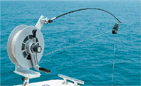 Treuil manuel XL 34 Kristal Fishing