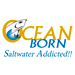 Logo de la marque Ocean Born - Saltwater Addicted!!!