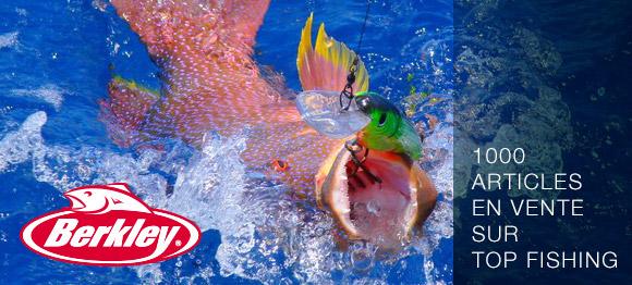 Berkley : Plus de 1000 articles en vente sur Top Fishing