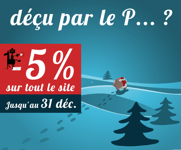 Déçu par le P... ? Top Fishing fait une remise de 5% jusqu'au 31 décembre