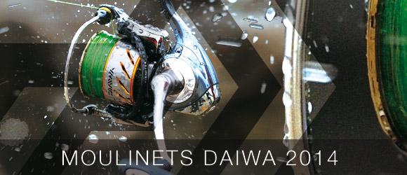 Découverte des moulinets Daiwa 2014