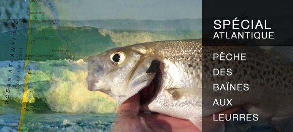 Spécial Atlantique : pêche des baïnes aux leurres