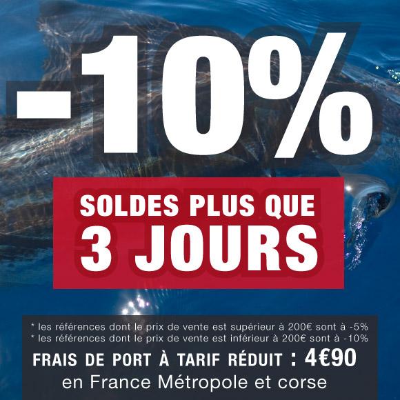 Soldes d'hiver 2013 sur Top Fishing