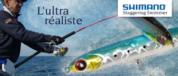 Shimano Staggering Swimmer : l'ultra réaliste !