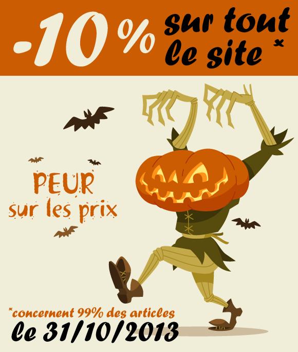 Halloween 2013 : -10%
