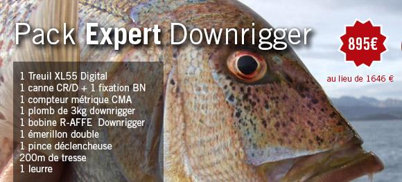 Pack Expert downrigger XL 55
