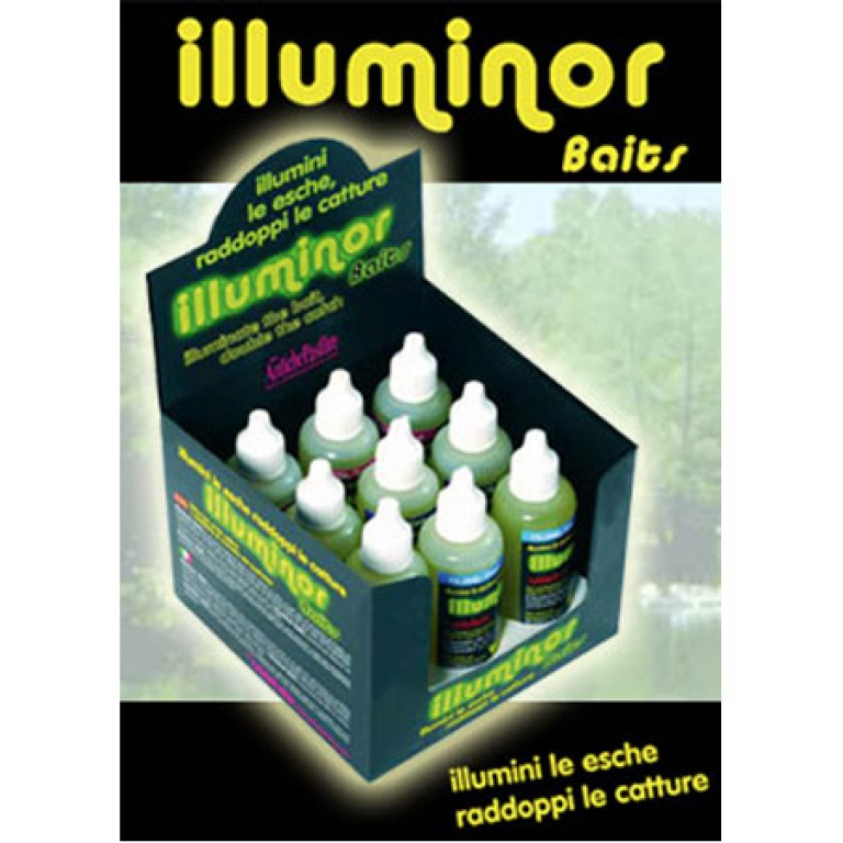 Illuminor = attractant et phosphorescent
